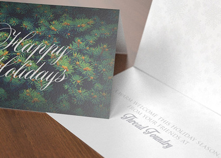 Custom greeting cards holidays birthdays printplace print holiday greeting cards m4hsunfo