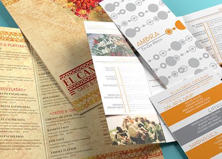 restaurant menu printing full color menus printplace
