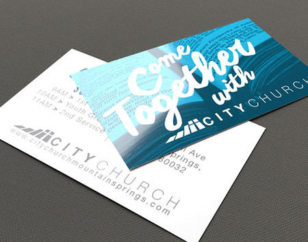 Church Invite Card Printing 3 Cardstock Options Printplace
