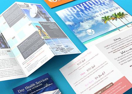 pamphlet printing half fold and tri fold printplace