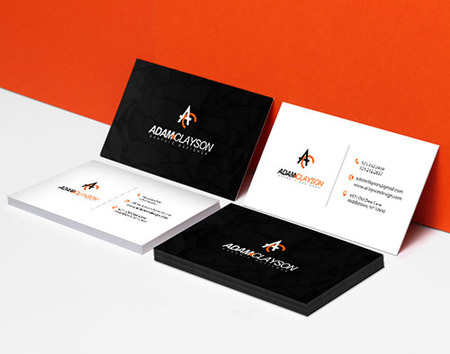 Standard business card printing thick high quality cards printplace standard business card printing wajeb Choice Image