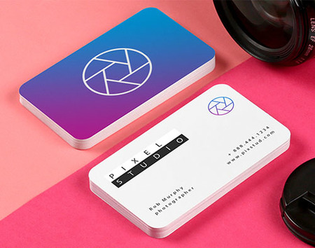 rounded corner business cards - Rounded Corner Business Cards