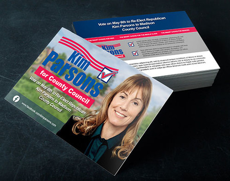 Political Push Cards Printing