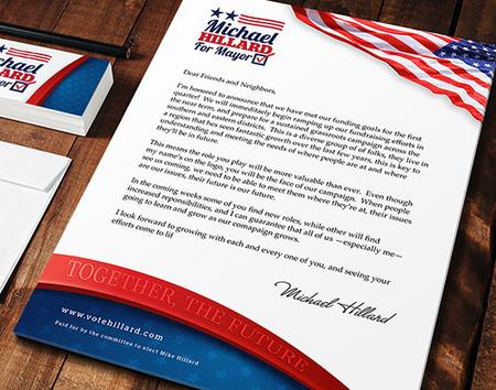 Political Letterhead Customized Campaign Logos Printplace