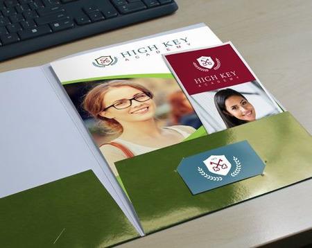 School Folder Printing