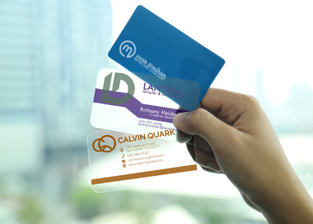 Plastic Business Cards Printing Types