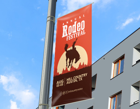 Pole Banners Printing