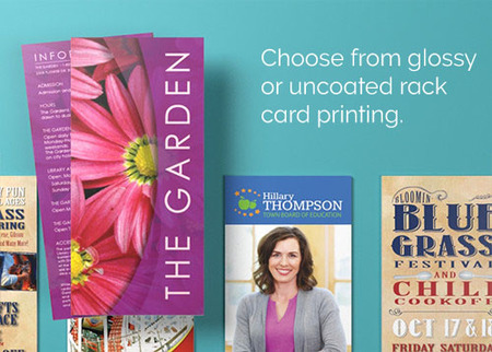 Print Personalized Rack Cards