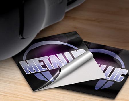 Custom Metallic Labels